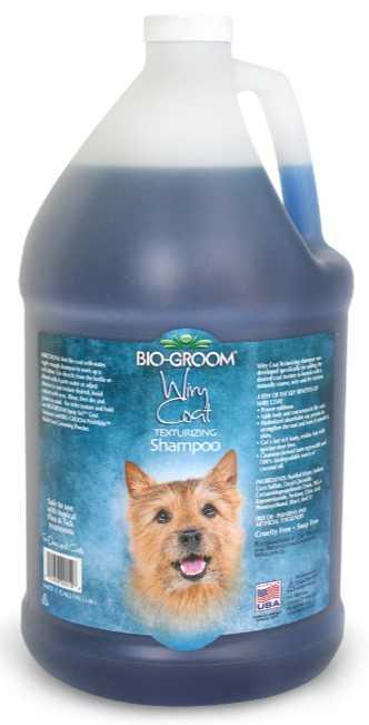 """ביו גרום וורי קואט שמפו לפרוות כלבים מקורזלת 3.78 מ""""ל"""