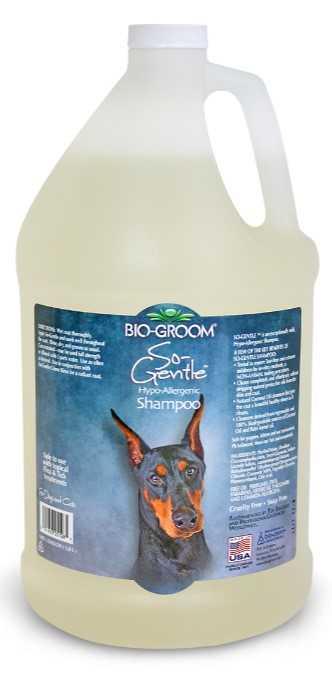 """ביו גרום סו ג'נטל שמפו היפואלרגני לכלבים 3.78 מ""""ל"""