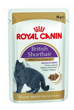 פאוץ` לחתול בריטי רויאל קנין 85 גר`