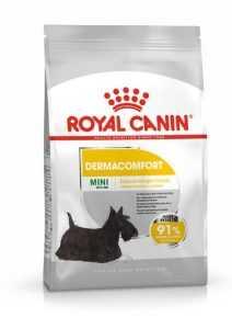 """אוכל לכלבים קטנים רויאל קנין דרמה קומפורט לבעיות עור 4 ק""""ג"""