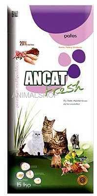 """אוכל לחתולים איי אן סי - ANC עוף וטלה 3 ק""""ג"""