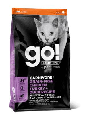 מזון לחתולים גו אולטרה פרימיום ללא דגנים