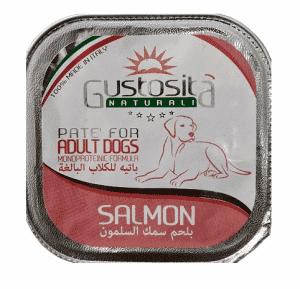 גוסטוסיטה מונו פרוטאין לכלב פטה סלמון 150 ג`