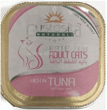 גוסטוסיטה לחתול פטה טונה 100 ג`