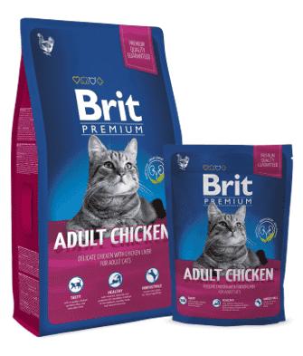 """בריט עוף לחתולים 8 ק""""ג"""