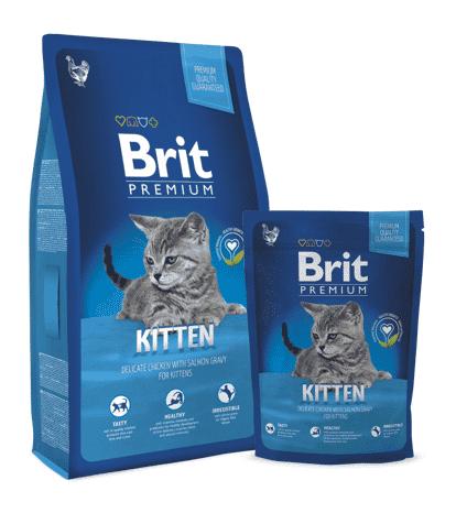 """בריט קיטן אוכל לגורי חתולים 8 ק""""ג"""