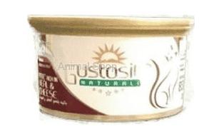 גוסטוסיטה לחתול פטה עגל וגבינה 85 ג`