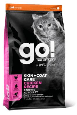 מזון אולטרה פרימיום לחתולים לטיפוח העור והפרווה