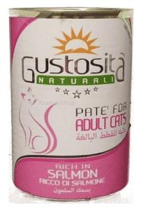 גוסטוסיטה לחתול פטה סלמון 400 ג`