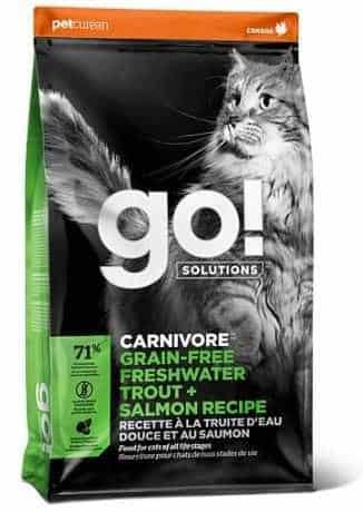 """גו! קרניבור סלמון ופורל 3.7 ק""""ג לחתול"""