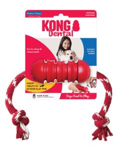 קונג צעצוע דנטלי עם חוט M
