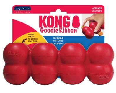 קונג עצם מרובעת בצבע אדום