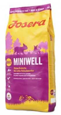 """ג'וסרה מיניוול 15 ק""""ג לכלב קטן + פח אחסון מתנה!"""