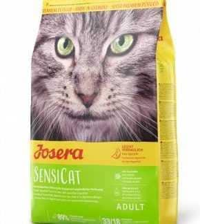 """ג'וסרה סנסיקט לחתולים רגישים 10 ק""""ג + פח אחסון מתנה!"""