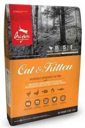 """אוריג'ן ללא דגנים לכל שלבי החיים 1.8 ק""""ג לחתול"""