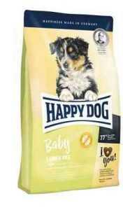 """הפי דוג בייבי גורים טלה ואורז 10 ק""""ג לכלב"""