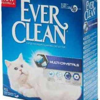 """אוור קלין סגול לחתולים מולטי קריסטל ללא בישום 8.3 ק""""ג"""