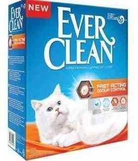 """אוור קלין כתום מבושם עדין 8.3 ק""""ג לחתולים"""