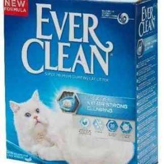 """אוור קלין כחול מתגבש חזק ללא בישום 8.3 ק""""ג לחתולים"""