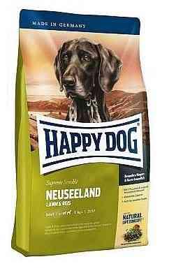 """הפי דוג ניו זילנד כבש ואורז 12.5 ק""""ג לכלב"""
