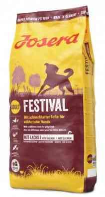 """ג'וסרה פסטיבל לכלב 15 ק""""ג + פח אחסון מתנה!"""