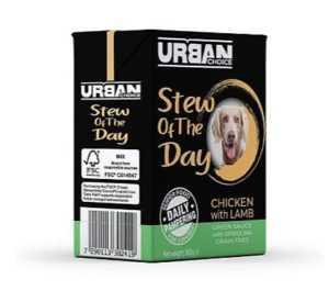 אורבן צ'ויס - תבשיל עוף וכבש 360 גר' לכלב