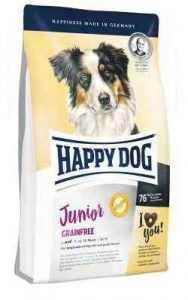 """הפי דוג ג'וניור ללא דגנים גורים מגיל 7 חודשים 10 ק""""ג לכלב"""