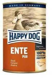הפי דוג שימורים ללא דגנים ברווז 400 גר' לכלב