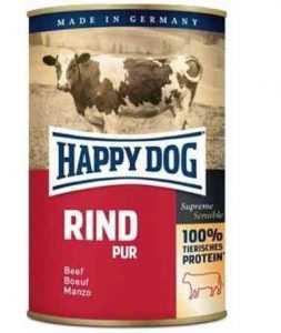 הפי דוג שימורים ללא דגנים בקר 400 גר' לכלב