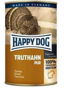 הפי דוג שימורים ללא דגנים הודו 400 גר' לכלב