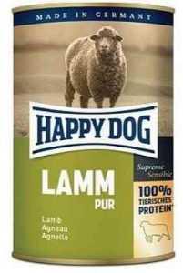 הפי דוג שימורים ללא דגנים כבש 400 גר' לכלב