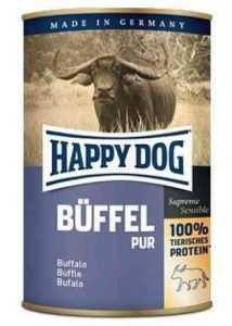 הפי דוג שימורים ללא דגנים בפאלו 400 גר' לכלב