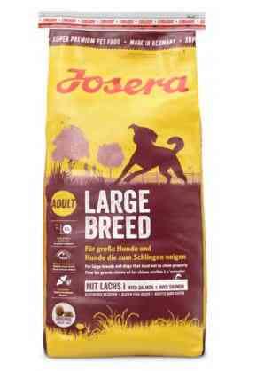"""ג'וסרה גזע גדול לכלב 15 ק""""ג + פח אחסון מתנה!"""