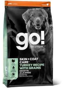 """גו! הודו סקין + קואט מופחת דגנים לכלב 11.3 ק""""ג"""