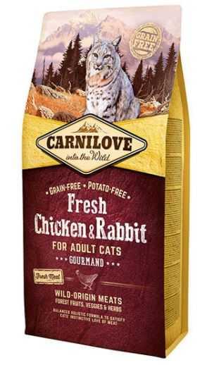 """קרנילאב עוף וארנבת 6 ק""""ג לחתול"""