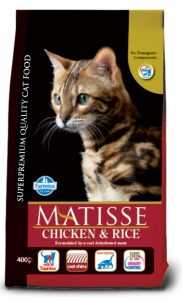 אוכל לחתולים מאטיס עוף ואורז