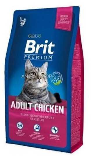 """בריט - לחתול עוף 8 ק""""ג"""