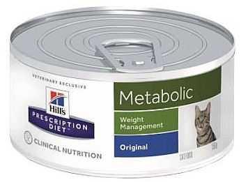 הילס מטבוליק שימור רפואי לחתול 156 גר'