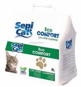 חול מתגבש לחתול ספיקט אקו קומפורט 8 ליטר