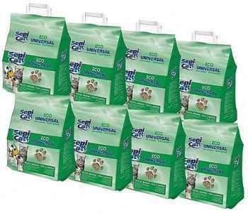 מבצע 8 יח׳ מצע שבבי עץ ספיקט אקו למכרסמים 20 ליטר