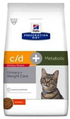 """הילס C/D מטבוליק לחתול 4 ק""""ג"""