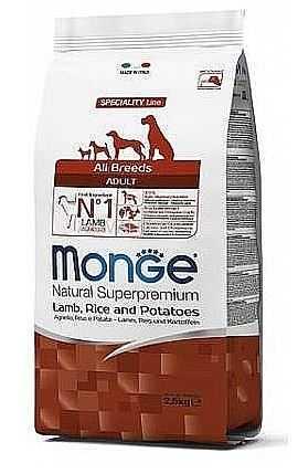 """מבצע! מונג' כבש אורז ותפו""""א לכלב 12+3 ק""""ג"""