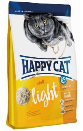 """הפי קט לייט מופחת שומן לחתול 10 ק""""ג"""