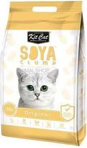 חול מתגבש קיט קט אוריגינל לחתול על בסיס סויה 7 ליטר