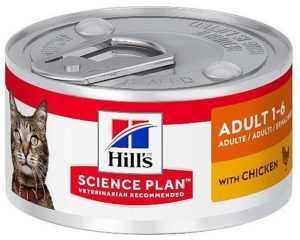 הילס מעדן עוף לחתול 82 גר'