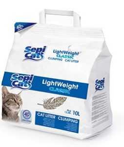 חול מתגבש לחתול עם פרווה ארוכה 20 ליטר