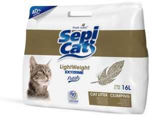חול מתגבש לחתול ספיקט לייט וייט אקסטרים 16 ליטר
