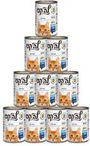 מבצע 24 יח' שימור פטה לחתולים לה קט דגים 400 גר'
