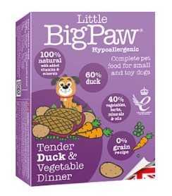 ליטל ביג פאו - ברווז וירקות 150 גרם לכלב