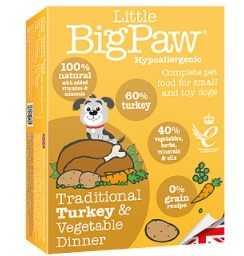 ליטל ביג פאו - הודו וירקות 150 גרם לכלב